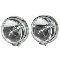 Universal 60mm Front Fog Spot Lights 12V H3 55W White Light Car Van Pick Up