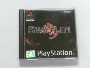 Shaolin PlayStation 1 PS1 Spiel  PAL Version 1 bis 2 Player Game in OVP