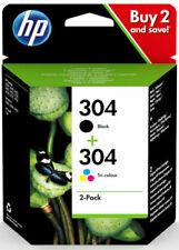 HP 304 Pack di Nero/Tre Colori Cartucce d'Inchiostro Originali