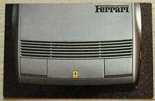 FERRARI Car Sales Brochure 1980s GERMAN/FRENCH TEXT Mondial 308GTSi/GTBi BB512 +