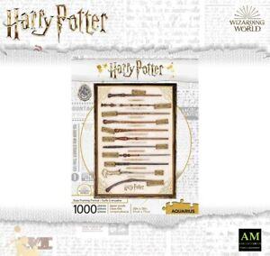 Aquarius Puzzle - Harry Potter Baguettes Magiques - 1000 Pièces - Emballage