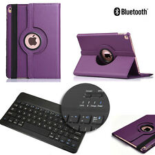 360 Rotating Leather Flip Stand Case Bluetooth Keyboard Cover for iPad Pro 9.7''