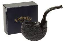 Savinelli Roley Tobacco Pipe - Rustic
