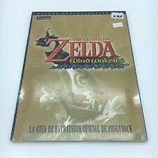 Guía Nueva Precintada PIGGYBACK en Español - ZELDA WIND WAKER - Gamecube y Wii U