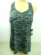 Nike printed miller tank black/white reflective sz Lare 618117-010 MSRP $38 NWT!