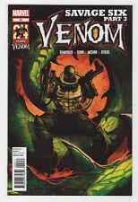 Venom #20 (Sep 2012, Marvel) Savage Six Rick Remender Cullen Bunn Lan Medina Q
