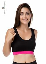 Atmungsaktive Damen-BHs-Tops aus Polyester für Fitness & Yoga