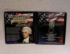 Thomas Jefferson  Dollar Coin & Stamp Commemorative Collection - Presidential