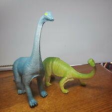 2 Brontosaurus Dinosaur 1985 Imperial Vintage