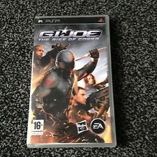 G.I. JOE The Rise of Cobra com. PSP Très bon état