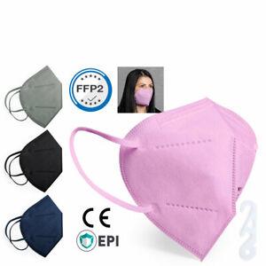 FFP2 Masken  Mundschutz Atemschutzmaske Gesichtsschutz Masken ab 5 Stück CE2834