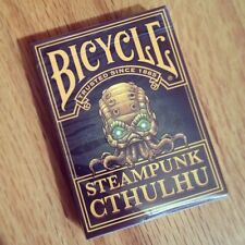 CARTE DA GIOCO BICYCLE STEAMPUNK CTHULHU,poker size