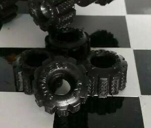 4 New Black Schaper Stomper Super Wide FATTIES Truck TIRES (Reproductions)