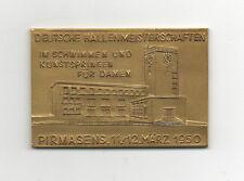 ORIG. MEDAGLIA D'ORO/1. spazio Meisterschaft tedesca 1950 - 4 x 100 M/in box!!!