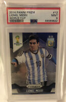 Lionel Messi 2014 Panini Prizm World Cup #12 PSA 9 Mint