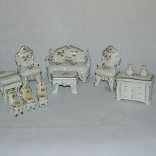Dollhouse Miniature Porcelain Furniture Lot Japan Made in Japan