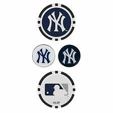 MLB New York Yankees Golf Ball Marker Set Team Effort Poker Magnetic Set