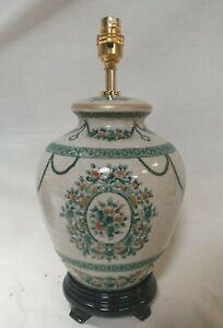 Porcelain Table Lamp Oriental Carpet Design 3271/3905