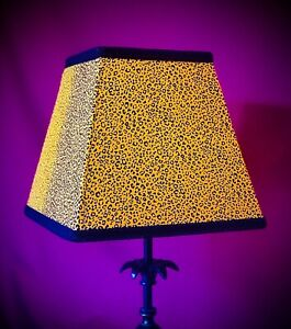 Gold Animal Print Table Lampshades Wall Lights Bedside Lampshades Ceiling Lights
