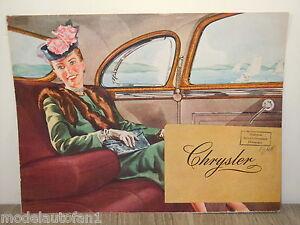 Folder/Brochure 1946 Chrysler Windsor & New Yorker *4897