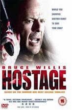 HOSTAGE Bruce Willis*Kevin Pollak*Ben Foster Crime Action Thriller DVD *EXC*