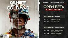 COD Call Of Duty, Black Ops Cold War - Beta/Early Access Code - All Platforms