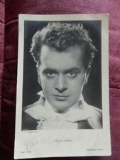 HANS JARAY  - AUSTRIAN  ACTOR - AUTOGRAPHED POSTCARD PHOTO