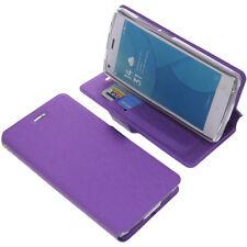 Funda para Doogee X5 MAX / X5 Pro Book Style Protectora de móvil Púrpura