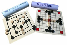 Two Viking board games: Hnefatafl and Nine Mens Morris