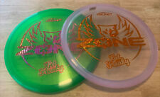 Pair Of Get Freaky Zone Brodie Smith Orange Stars Green With Oil Slick New
