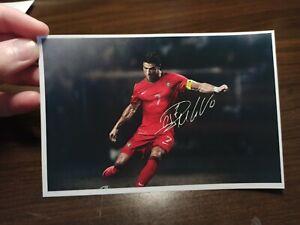 Cristiano Ronaldo Autogramm Foto Autogrammkarte Ca. 10x15cm