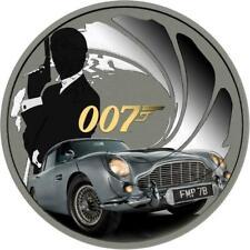 Tuvalu 2020 1$ - James Bond 007 - 007 - 1 Oz Silver Coin