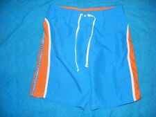 BILLABONG BOARDSHORTS SIZE 8 Blue/Orange-White Trim NEW