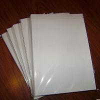 Iron On T-shirt Transfer Paper for Dark Fabrics Ink jet Printer 5 Sheets cHEAP
