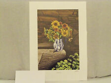 "Bob Timberlake ""Sunflowers""  Signed & numbered new lower price"