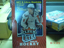 2008-09 FLEER ULTRA HOCKEY FACTORY SEALED BOX (B2)
