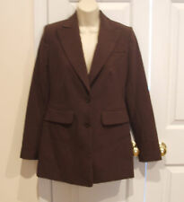 new with tag $149  moda international brown blazer jacket size 2