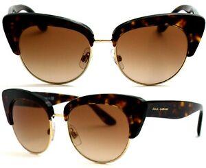 Dolce&Gabbana Damen Sonnenbrille DG4277 502/13 52mm Verlauf braun gold 266 50