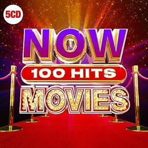 NOW 100 Hits Movies [Audio CD] Various Artists New Sealed