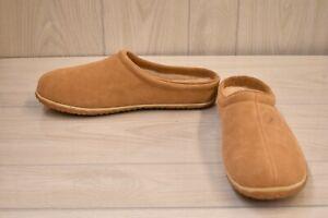 Minnetonka Taylor Clog 41011 Slippers, Men's Size 12 M, Cinnamon