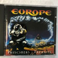 Europe-Prisoners in Paradise Music CD Private Collection Excellent Condition