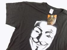 DELTA $ MEN'S Short Sleeve Graphic Tee TOP Shirt SIZE XL V for Vendetta E22