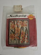 "Valiant Needlepoint Crafts Kit 7711 Sparker Vintage 10"" X 12"" Sealed package"