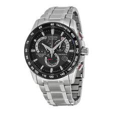 Citizen Herren AT4008-51E Edelstahl Watch NEU in Box