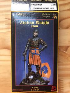 Andrea Miniatures Italian Knight 54mm