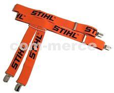 STIHL Hosenträger orange in Varianten hochwertig für Bundhose