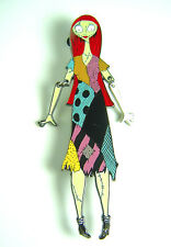 "Disney Pin Dsf Sally Dangle Arms Nightmare Christmas Le Rare Glows 4 1/2"" Tall"