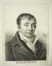 Poet François-Guillaume-Jean-Stanislas Andrieux Potrel Deveria Lying c1880
