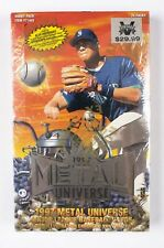 1997 Metal Universe Baseball Sealed Hobby Box 24 Packs Hobby Exclusive