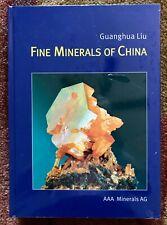 Fine Minerals Of China Book by Guanghua Liu 2006 Hardcover - New in Wrapper!